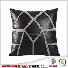 faux leather sublimation pillow case