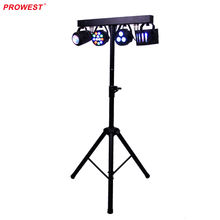 LED Disco Light Kits Party Sets RGBW For Stage Decoration with Triangular Stand Remote Control