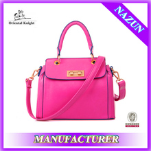 New product fancy design leather best messenger bag for college with long strap