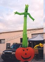 6mH Factory price Halloween decoration pumpkin ghost air dancer for selling C1050