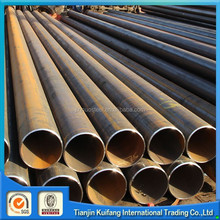 astm a53 black low carbon ms steel pipe construct company