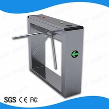Factory price RS232 interface high quality CE approved stainless steel security tripod turnstile gate