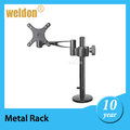 WELDON metal shelf bracket with plastic cover