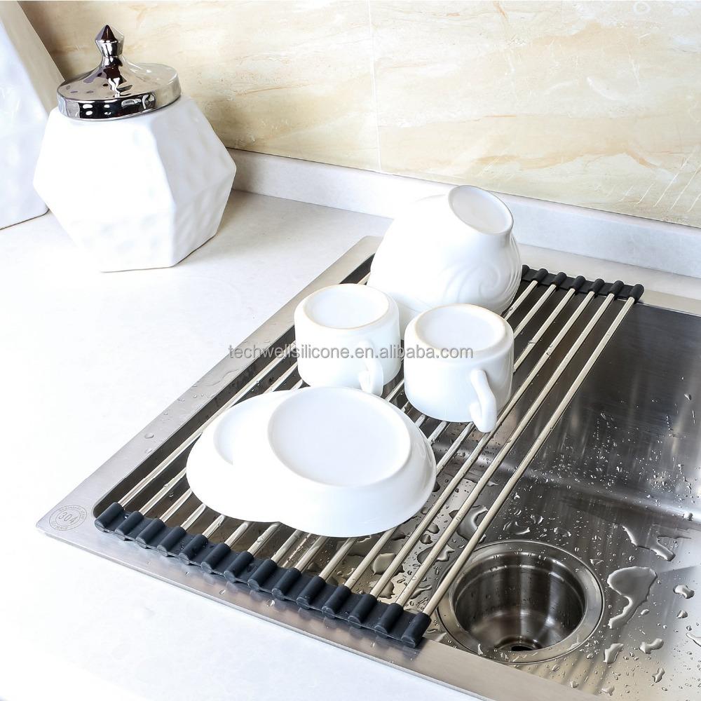 Kitchen Drying Rack For Sink Wholesale Holder Plastic Dishes Rack Online Buy Best Holder
