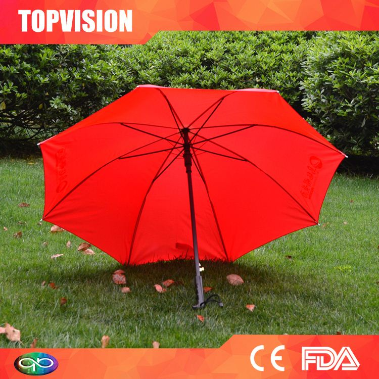 Best Selling factory directly golf umbrella with plastic cover
