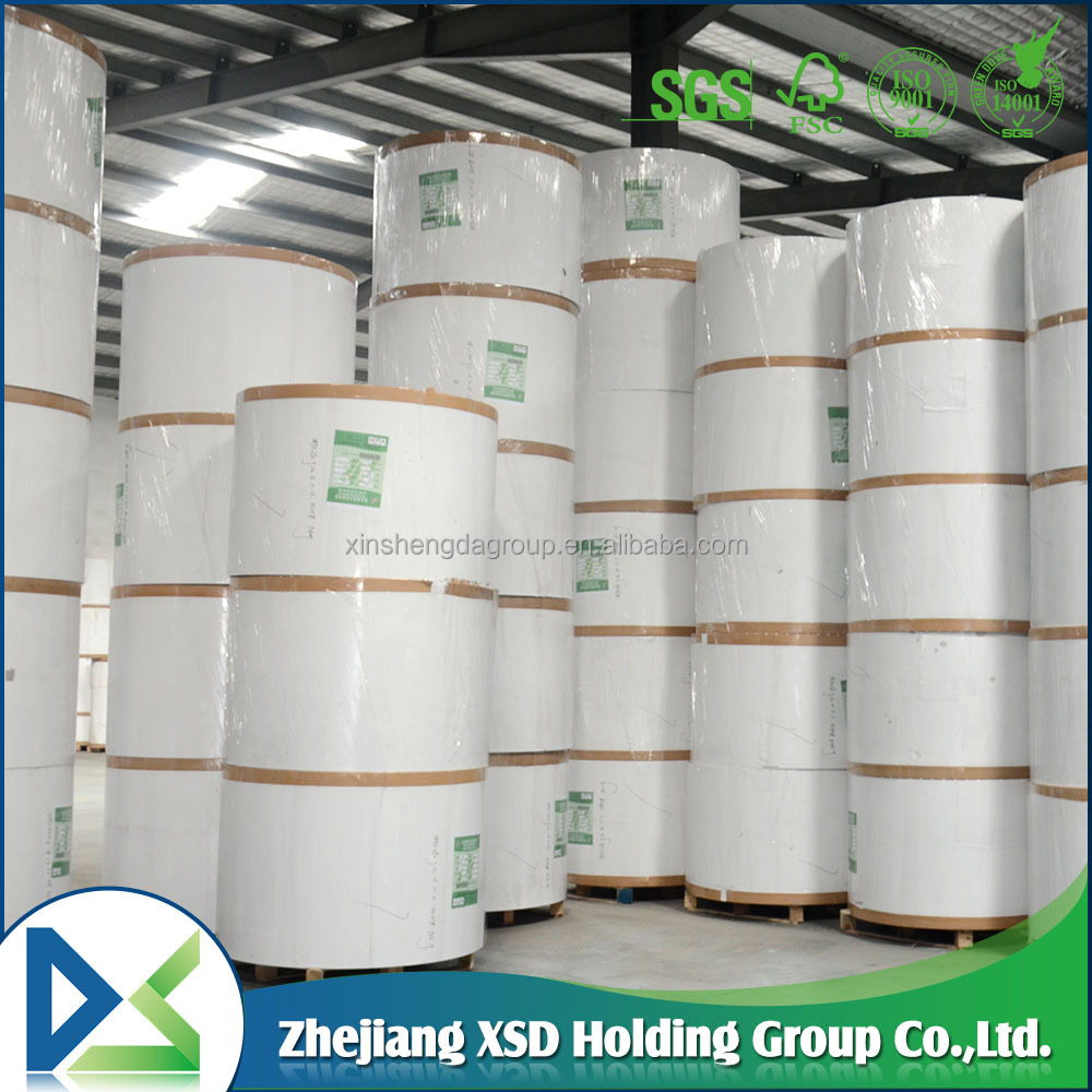 250GSM Offset Printing Paper Duplex Board One Side White Coated Duplex Paper Board Grey Back manila