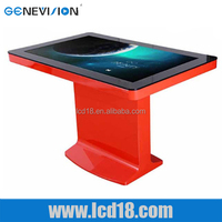 70 inch certificated game table with touch screen for advertising display