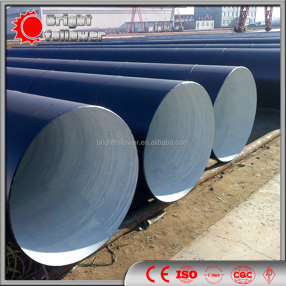 spiral steel pipe for oil pipeline construction/ms iron tube saw pipe submerge arc welding pipe