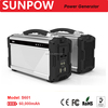 SUNPOW High Capacity 60000mAh 220w Portable Solar Generator lithium polymer battery Emergency Rescue