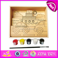 2016 fahsion kids wooden drawing board,popular baby dawing board,hot sale children wooden drawing board W03A044-M3