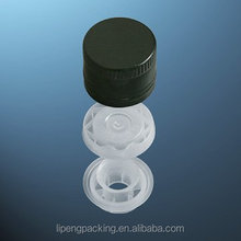 Non-drop Plastic Inserts ROPP Screw Bottle top Closures with NRF for Olive Oil, Beverage, Whisky, Blendy