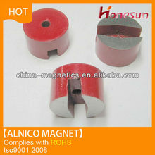 China supplier U shape children educational cast alnico magnet for sale