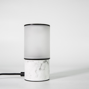 small decorative Marble table lamp lava table la with edison light bulb modern table lamp for cafe restaurant office dining room