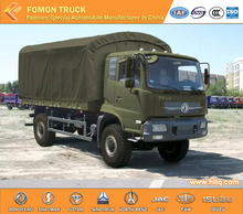 DONGFENG Tianjin 4X4 210hp 6wheels RHD 7-8tons off-road militiaman troop carrier camion