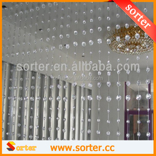 shimmery crystal screens room dividers