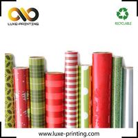 Glossy coated 80 gsm paper full color printing sheet in rolls