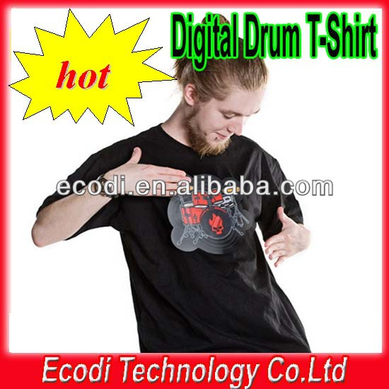 Hot!! New!!wholesale 100% cotton electronic rock guitar shirt