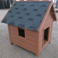 WPC House Tiny Wooden Dog House