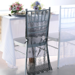 CC016 wedding lace chair cover wedding chair cover wholesale