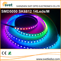 Controllable Led Strip SK6812 IC 144Leds / Pixels DC5V Every Leds Individually Cuttable and Addressable Similar WS2812B