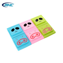 Colored Cute Pig Nose Silicone Rubber Switch Cover