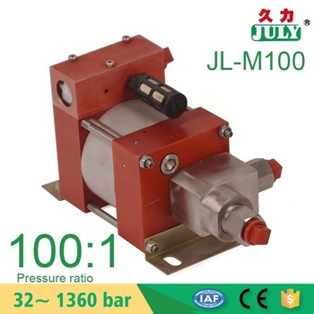 low cost JULY Factory customised air driven nitrogen gas booster pump