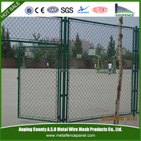Decorative galvanized sports ground fence