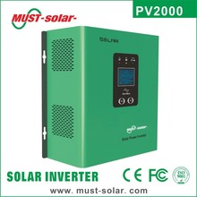 <Must Solar> 2015 new design PV2000 series low frequency off grid pure sine wave 12 volt dc to 220 volt 50hz ac inverter
