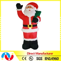 2015 hot sale Handmade Christmas Decorations Life Size Santa Claus