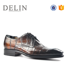 Cheap price customize classic breathable men leather dress shoes