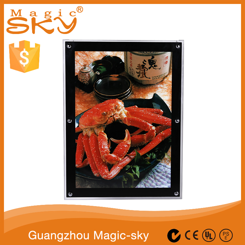 Wall mounted 3d crystal cube glass enamel photo frame picture frame