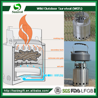 Made In China New Product Portable Wood Bbq Stove
