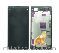 Replacement Lcd assembly with frame For Sony Xperia Z1 mini D5503 z1 compact
