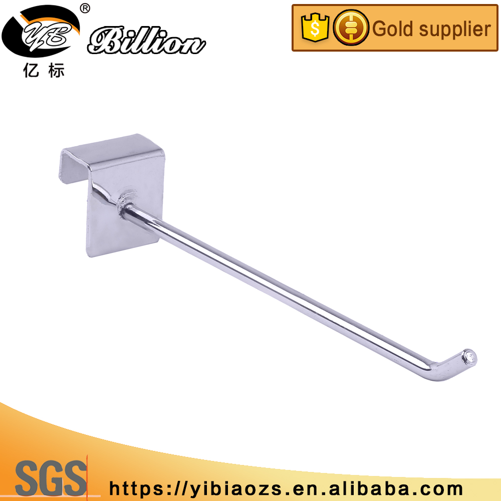 China supply cheap tube bar hook chrome hooks accessories tool hanger hook