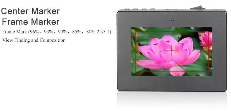 3.5 inch electronic viewfinder mini EVF tft 800x480 small lcd monitor hdmi for photography