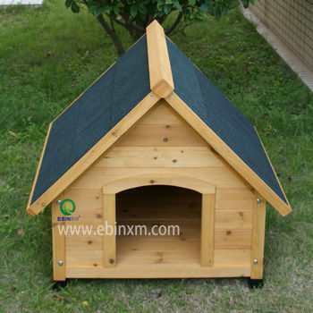 XEP0104 Apex roof wooden dog house for sale
