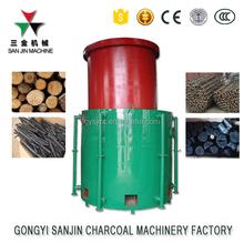 new design and good price coconut shell carbonizing machine and wood carbonization furnace