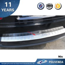 Rear bumper footplate for BMW X5 E70 2008 2009 2010 Trunk cargo guard plate (outside) Auto accessories from Pouvenda