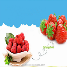 dehydrated strawberry crisps/freeze dried fruit/natural without any additives