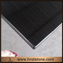 pure black shanxi black granite kitchen countertop