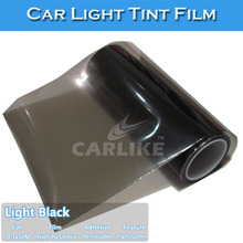 0.3x10m Car Headlight Vinyl Film Tint/Car Light Film/Car Wrap Vinyl Film