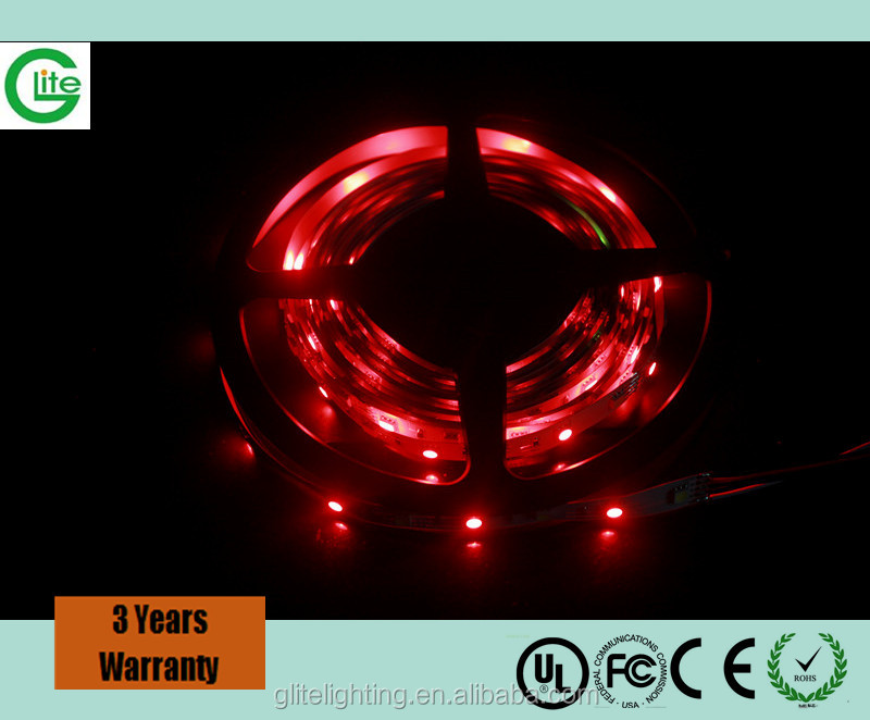 Factory price waterproof IP65 flexible LED celling strip SMD5050 30 red color