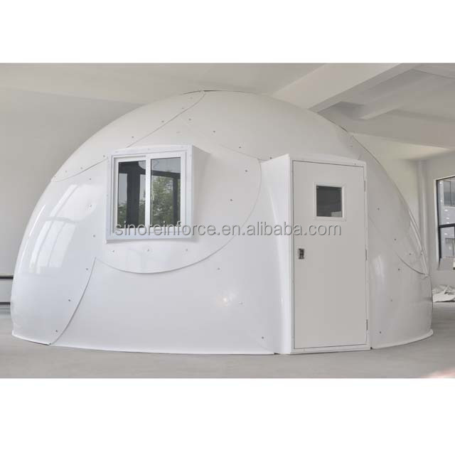 Quick installation fiberglass modular dome house