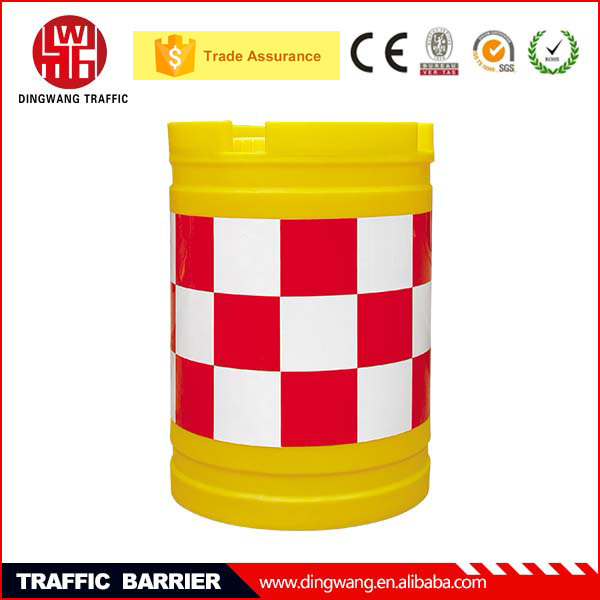 Widely used DINGWANG Rotational Plastic Traffic Safety Drum