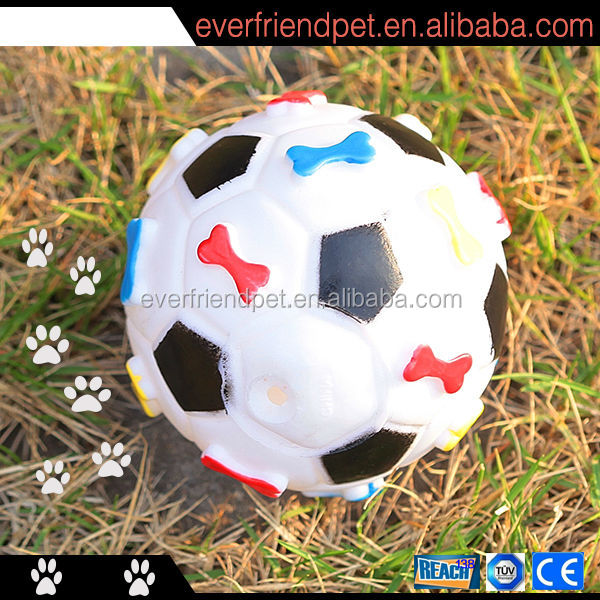 EN71/16P Free pet toys dog interactive ball ,soccer ball pet toys ,dog ball pet
