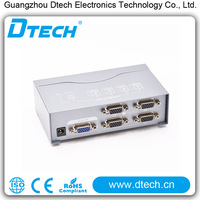 high quality dual monitor adapter of 250mhz 8ports vga splitter from china