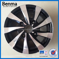 Top quality alloy wheels/three wheel motorcycle scooter parts
