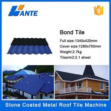 2015 colorful sand coated aluminum roofing shingles/color metal roofing