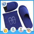 Unisex Foldable Slippers With a Pouch