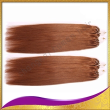 Brazilian, Peruvian, Indian, Malaysian, European, Mongolian, Russian micro ring hair extensions